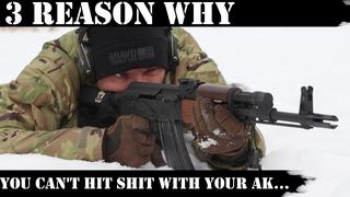 3 Reason You Miss with your AK