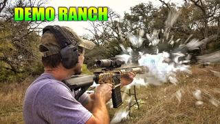 INSANE 50cal Muzzle Blast Power