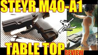 Steyr M40-A1 Concealed Carry Handgun Full Review THROWBACK