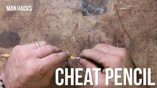 How to Make a Cheat Pencil