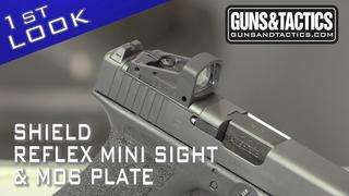 First Look Shield RMS and Glock MOS Plate