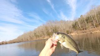 BASS FISHING A SECRET LAKE!