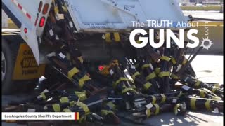 [FIXED] LA county melts thousands of guns in mesmerizing video