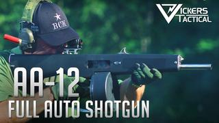 AA-12 Fully Automatic Shotgun 4k