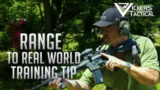 From the Range to the Real World Training Tip