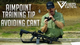 Aimpoint Training Tip: Avoiding Cant